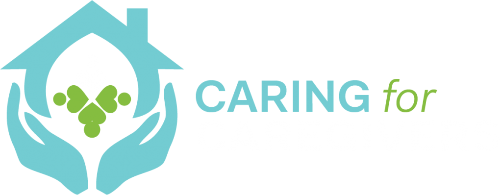 Caring for Caregivers Logo - reverse color